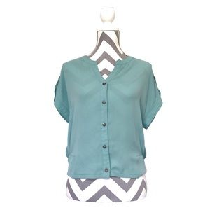 Xhilaration-Button Down Blouse-GUC-Sz SP